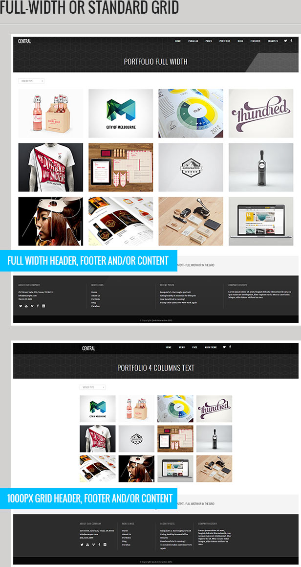 Central - Versatile, Multi-Purpose WordPress Theme - 3