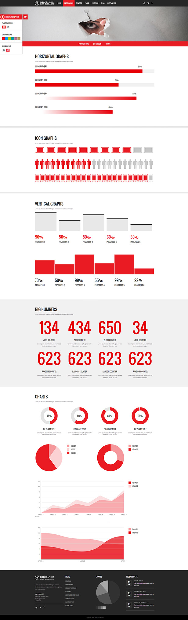 Infographer - Multi-Purpose Infographic Theme - 1