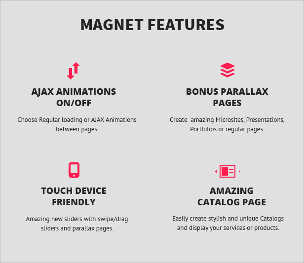 magnet theme description 3 MAGNET | Creative Business WordPress Theme