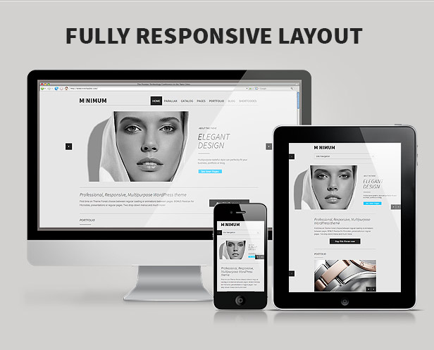 MINIMUM - Professional WordPress Theme - 4