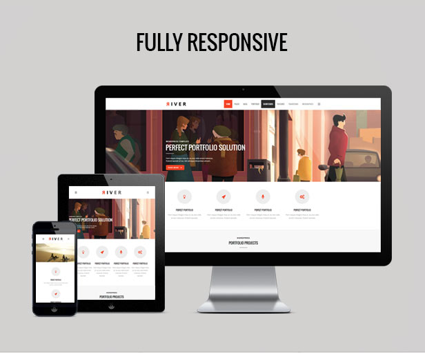 River - Retina Multi-Purpose WordPress Theme - 1