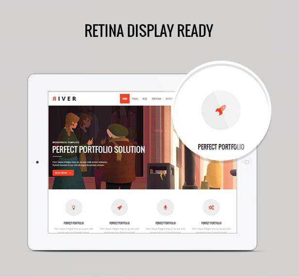 River - Retina Multi-Purpose WordPress Theme - 2