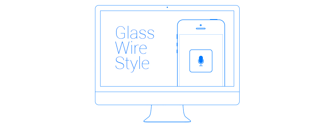 Glass-Wire-Style