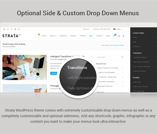 Strata - Professional Multi-Purpose Theme - 4