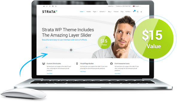 Perfectly Responsive & Retina Ready Theme